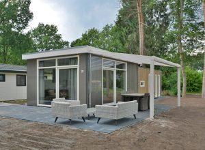 Luxe chalet model Cube Wellness park Rhederlaagse Meren en Brabantse Weelde