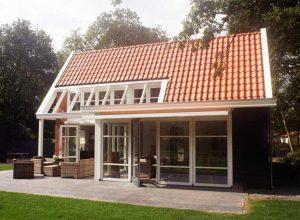 Strandvilla Bad Hoophuizen Tuin Terras